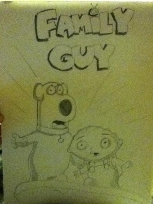 Family Guy por kerrysh